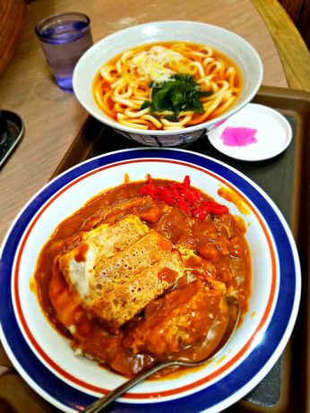 Curry katsu *and* udon for under 800 yen!