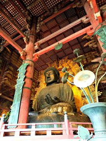 The Daibutsu in Todaiji.