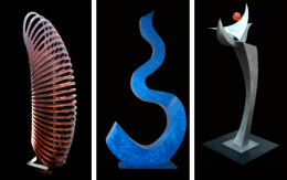 Chris O'Rourke sculptures