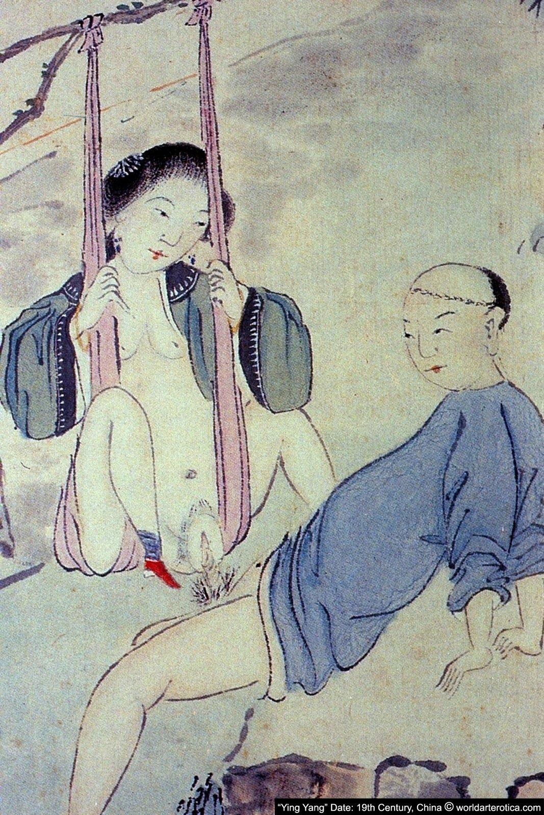 Swing Lovers, Chinese Taoist Erotica