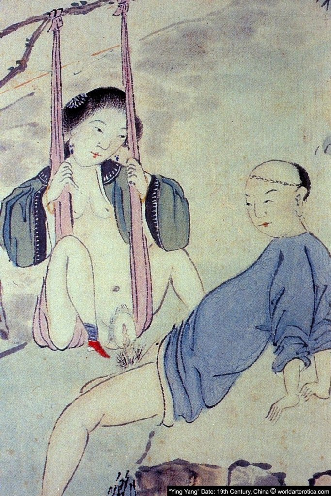 Swing Lovers, Taoist Chinese Erotica