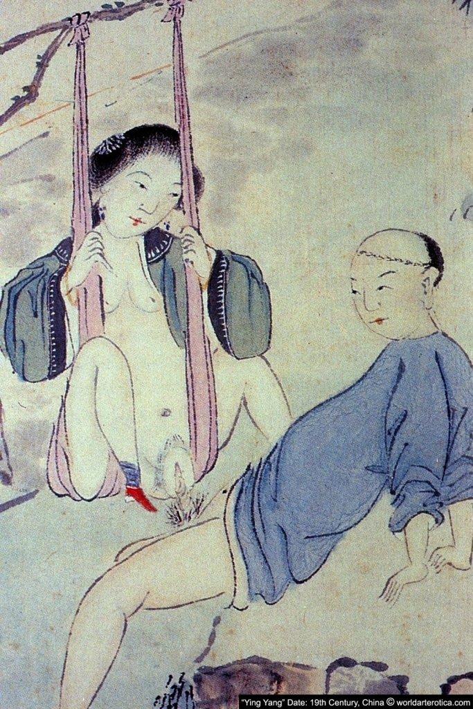 Swing Lovers, Taoist Chinese Erotica