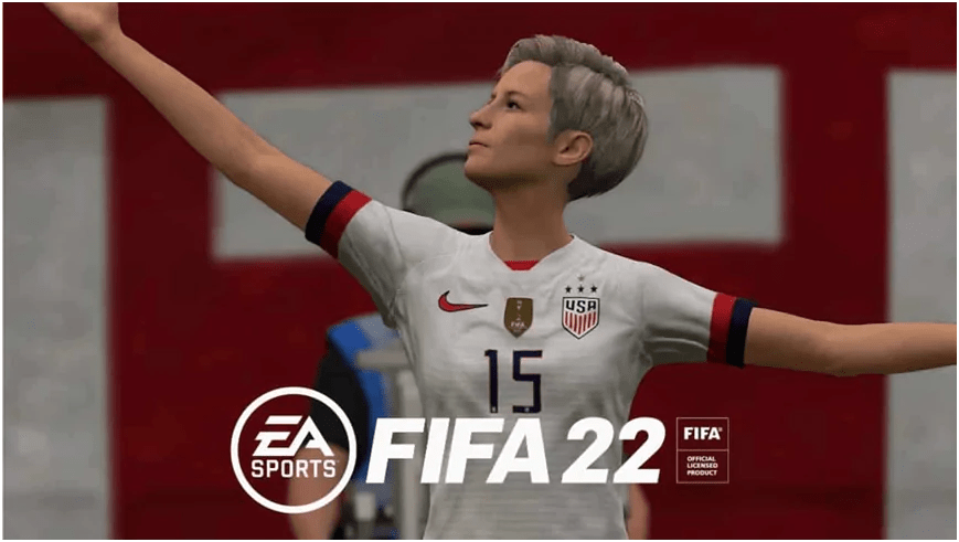 How did FIFA 22 get female players into the game?