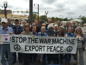 TWENTY-ONE ACTIVISTS ARRESTED AT THE PENTAGON DEMANDING ACCOUNTABILITY FOR WAR CRIMES AND AN END TO ONGOING US WARS