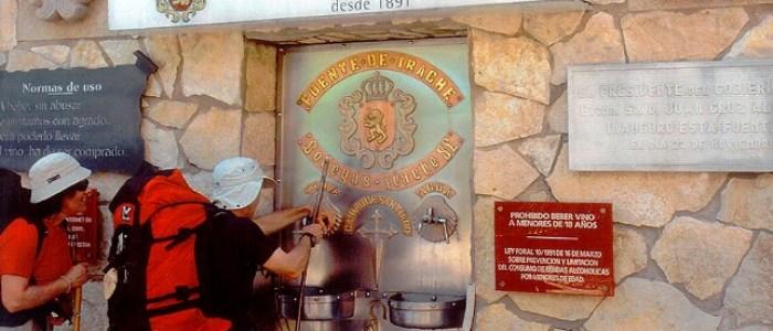 чешмата, от която тече вино