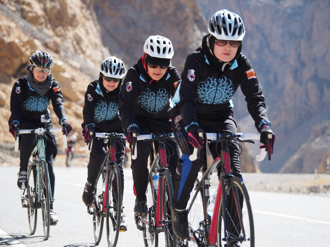 Afghanistan Women's Cycling Team