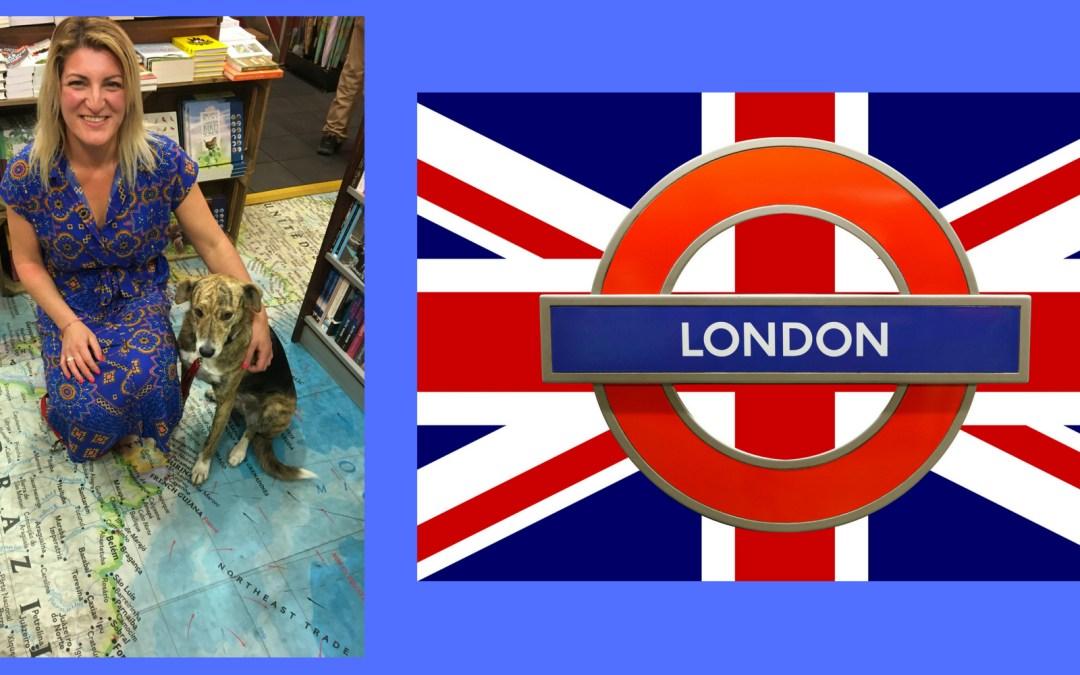 Maria & Me Arrive to London!