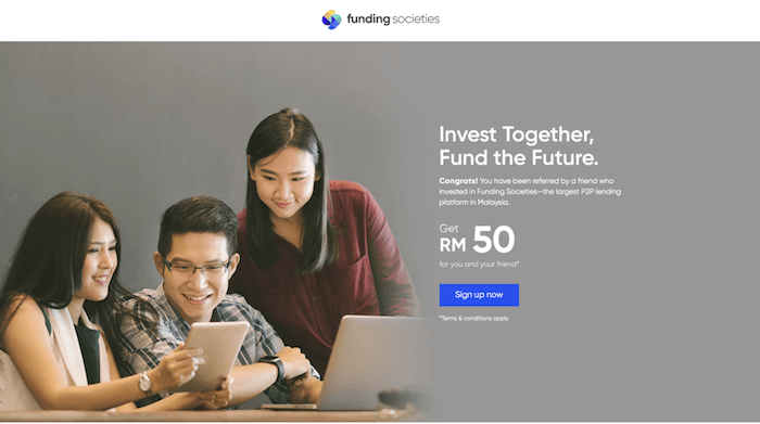 Funding Societies Malaysia Review - Best P2P Lending