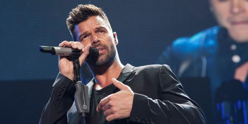 INGLEWOOD, CA - NOVEMBER 22:  Ricky Martin performs at iHeartRadio Fiesta Latina Music Festival - Show at The Forum on November 22, 2014 in Inglewood, California.  (Photo by Gabriel Olsen/FilmMagic)
