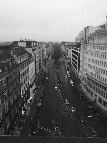 Langham London Street View From Room