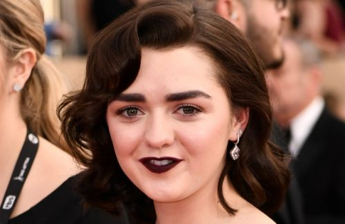 Credit: Photo by Rob Latour/REX/Shutterstock (8137126jl) Maisie Williams The 23rd Annual Screen Actors Guild Awards, Arrivals, Los Angeles, USA - 29 Jan 2017