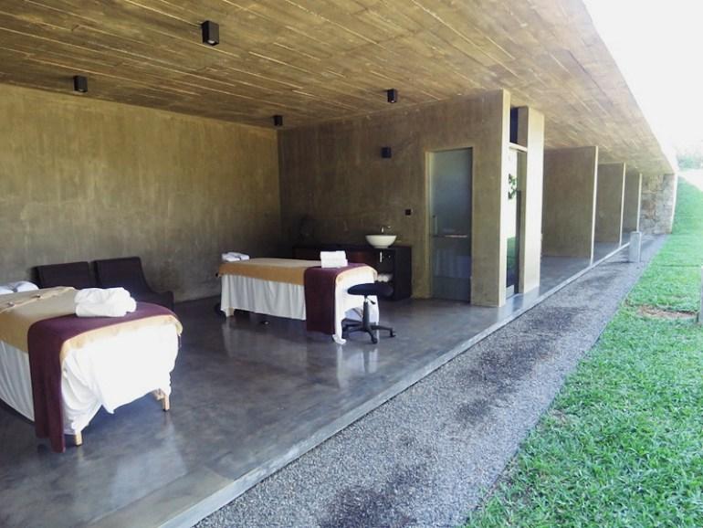 Santani spa room
