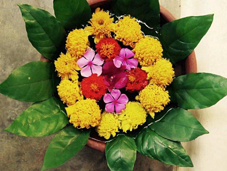 Ulpotha flower arrangement