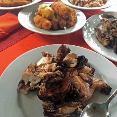 Jerk Chicken and Pork