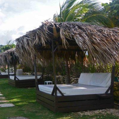 Row of Bali Beds