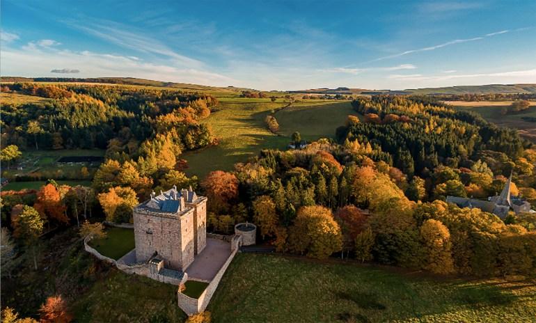 Borthwick Castle, Scotland. Photo by Madison Lauren Photography
