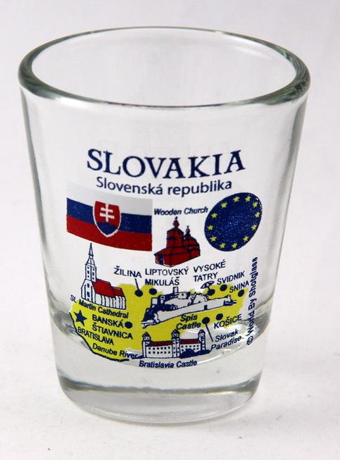 Denmark EU Series Landmarks and Icons Shot Glass