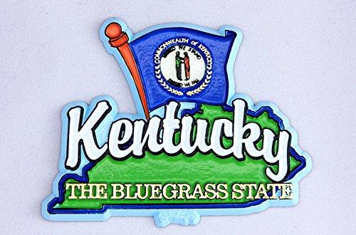 Kentucky State Map-Flag Fridge Collectible Souvenir Magnet on massachusetts state map, tennessee map, maine state map, tenn state map, u.s map, maryland state map, louisiana on us map, south dakota state map, indiana map, kentucky capitol building, arizona state map, new york state map, arkansas state map, texas state map, louisiana state map, pennsylvania state map, minnesota map, virginia state map, colorado state map, louisville map,