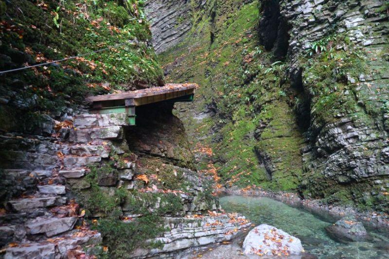 Kozjak Wasserfall