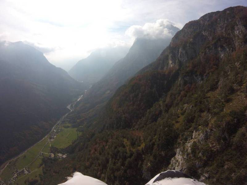 Paragliding in Bovec
