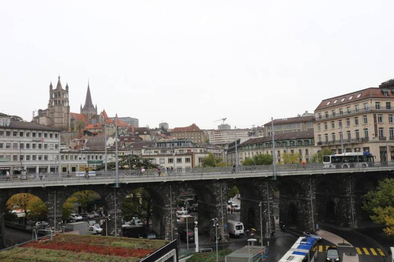 Sightseeing in Lausanne