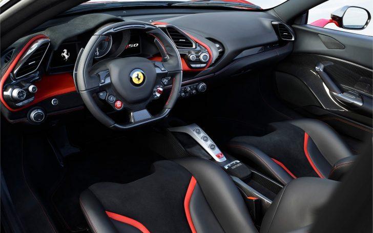 フェラーリj50のインテリア