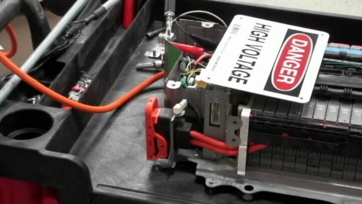 バッテリーの交換