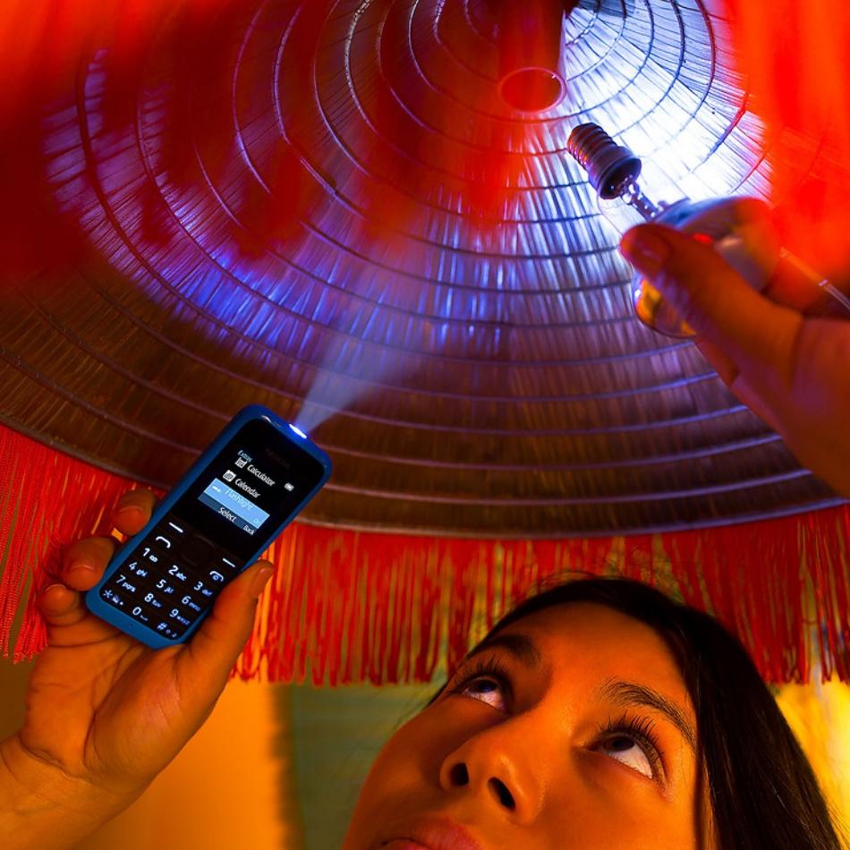 Single SIM Nokia 105 Black, New 2015 1