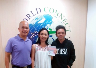 Mr. and Mrs. Porras with their Son-Cebu City