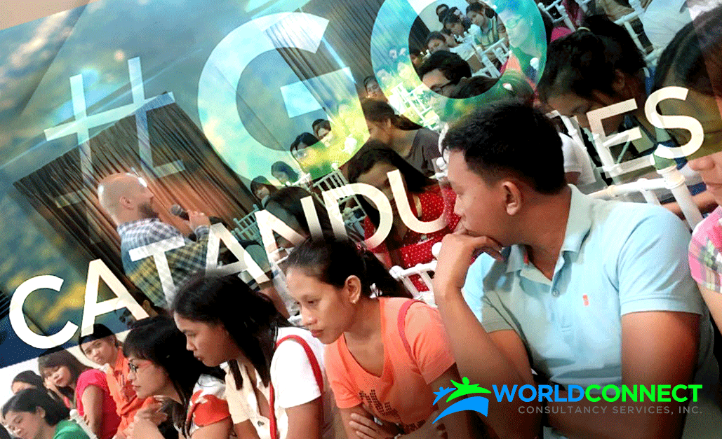 #GOCatanduanes: WORLDCONNECT invades Bicol island province