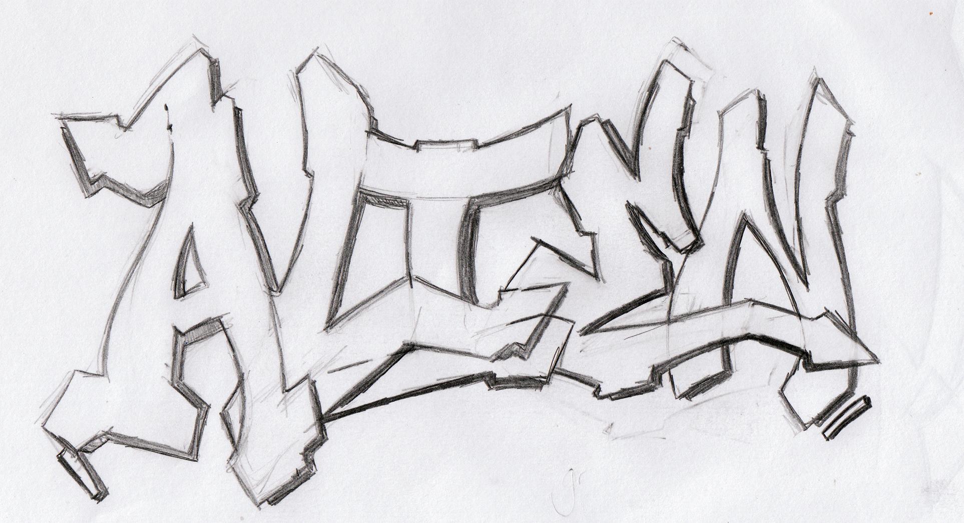 Developing My Own Graffiti Style