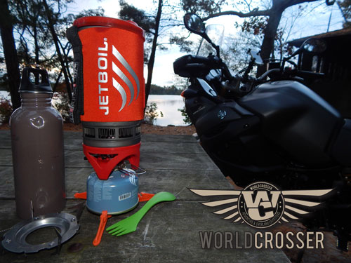 Adventure Motorcycle Camping Jetboil Stove – Product Review