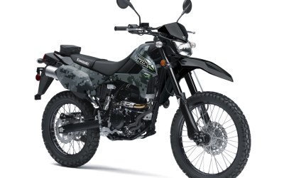 2018 KLX 250S in Camo Gray