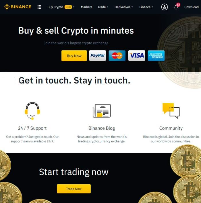 EOS-trading Binance-platform Polkadot profit