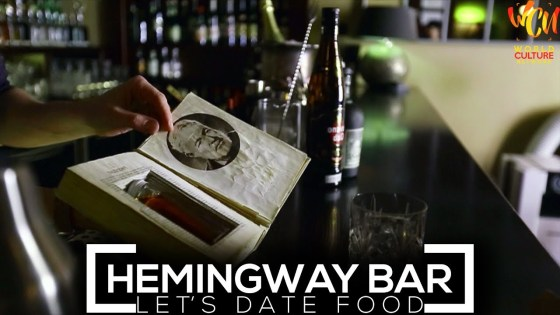 Hemingway Bar, Prague | Let's Date Food