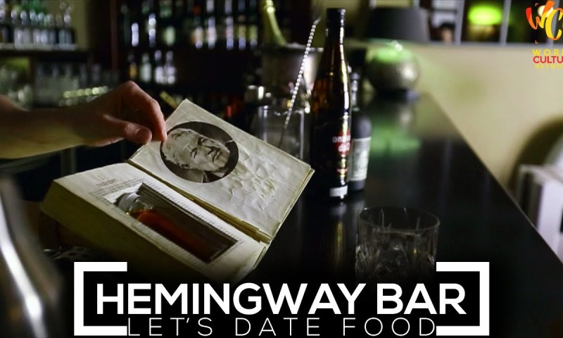 Hemingway Bar, Prague | Let's Date Food