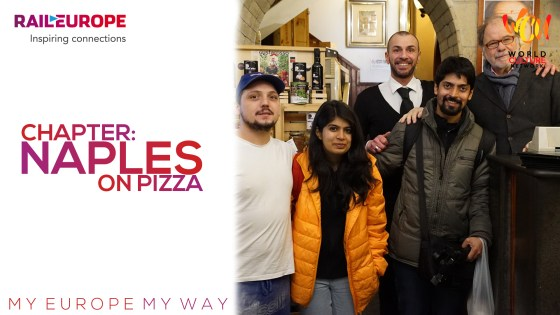 Chapter: Naples On Pizza | My Europe, My Way