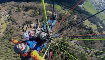 Paragliding In The Swiss Alps | The Swiss Adventure | World Culture Network | Featured Image