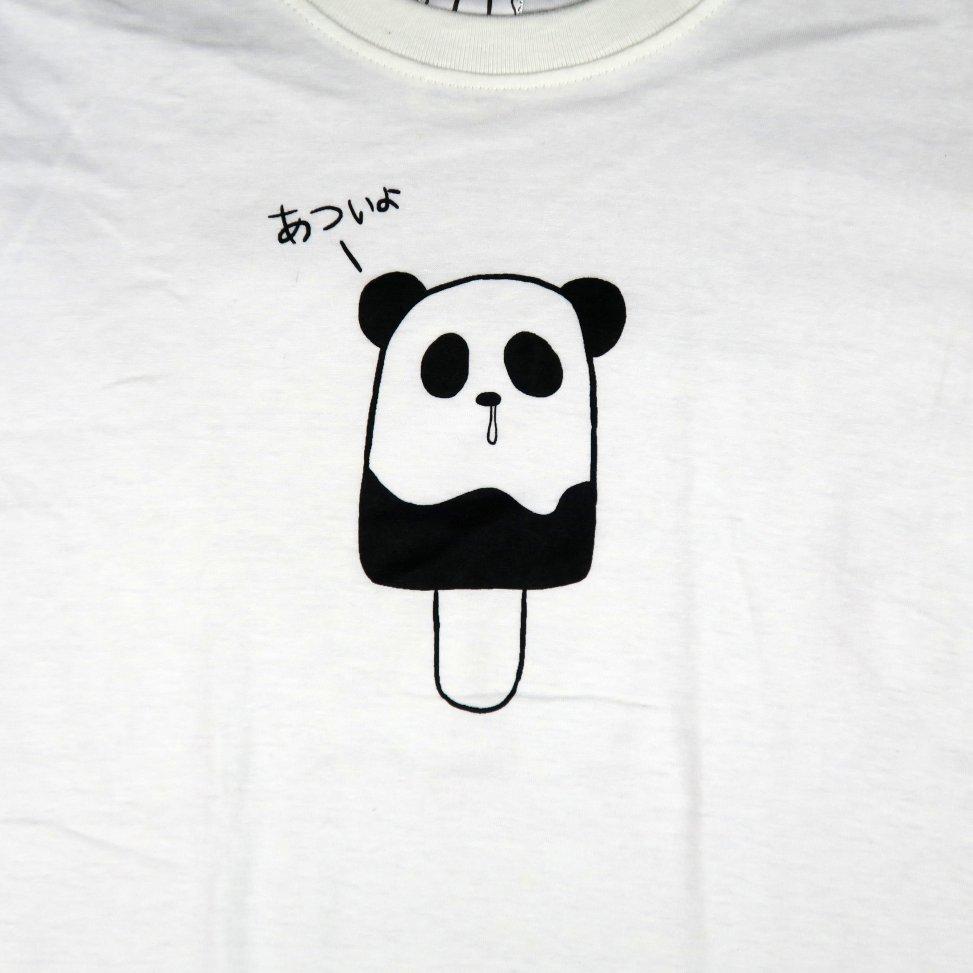 「パンダポップ」Tシャツ イラスト部分