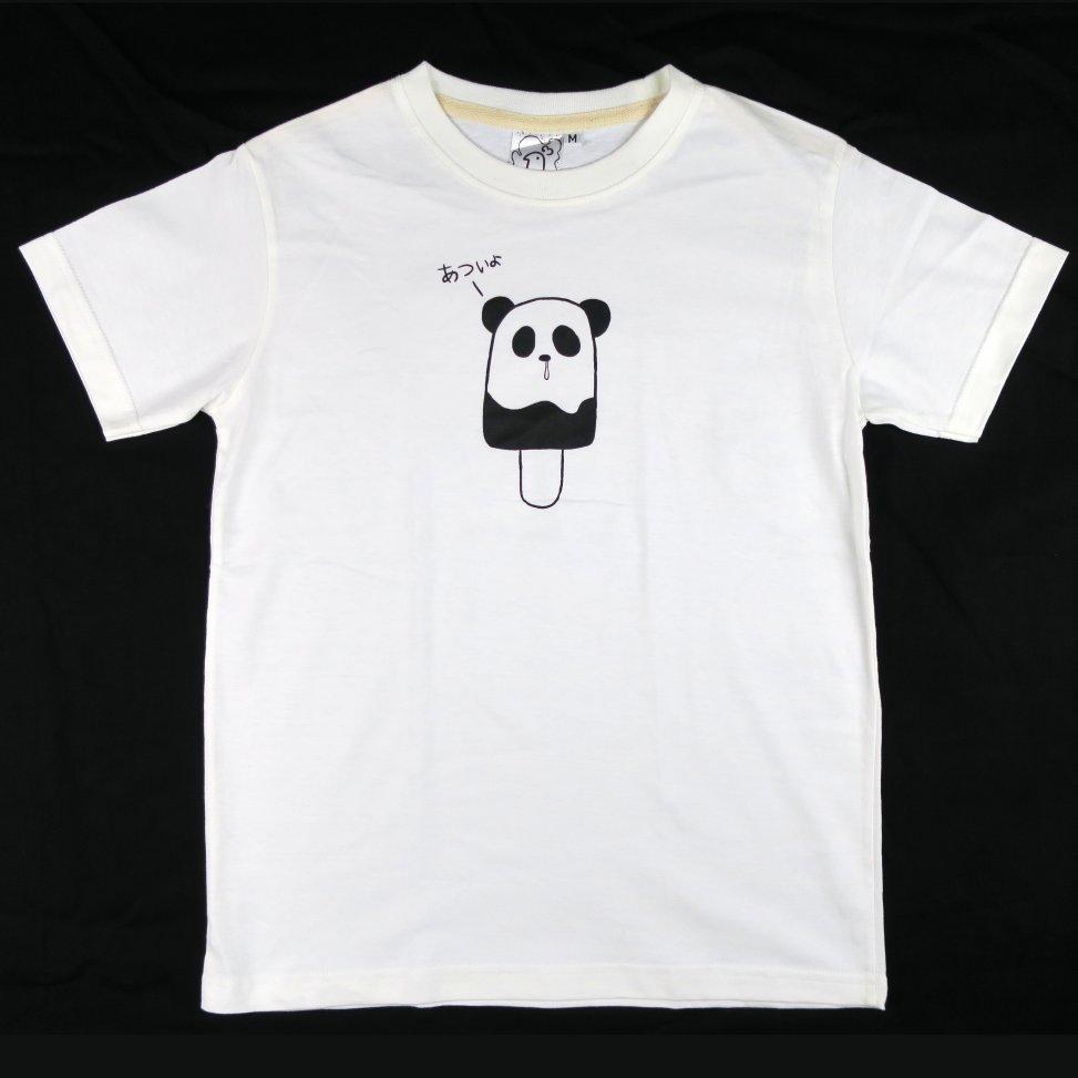 「パンダポップ」Tシャツ