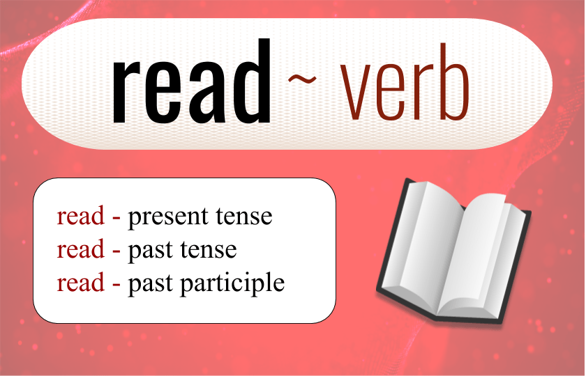 English grammar ~ Read and the past participle (Audio for