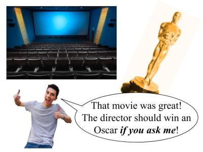 if you ask me oscars
