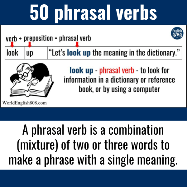 50 phrasal verbs