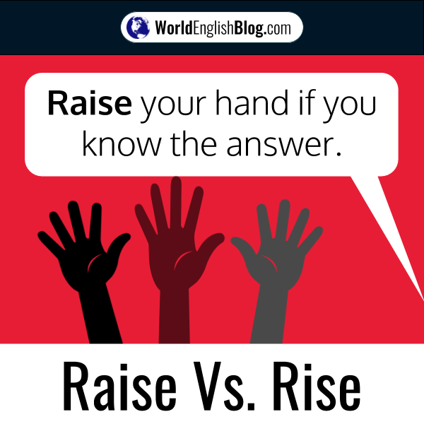 Raise your hand if you know the answer.