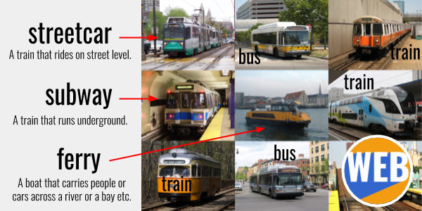 Public transportation - Learn English with a story