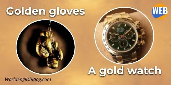 English Suffix -EN golden