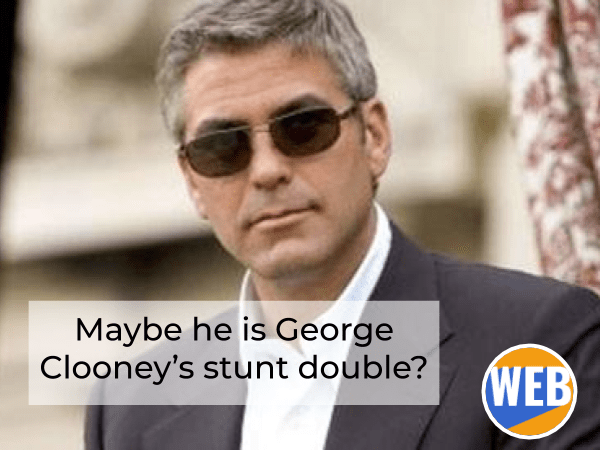 I like that man's hair, it's kind of George Clooney-ish. English suffix -ish
