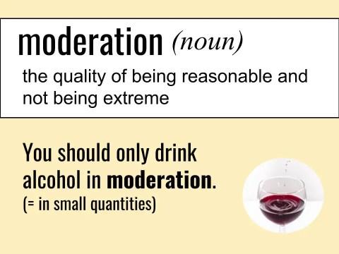 moderation ESL Listening Vocabulary