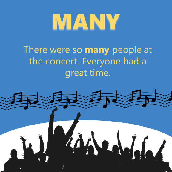 Much or Many - so many
