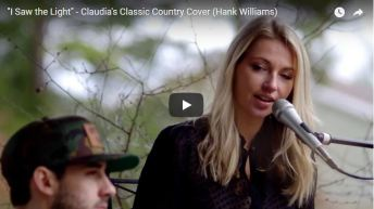 """I Saw the Light"" – Claudia's Classic Country Cover (Hank Williams)"